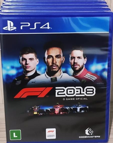 Formula 1 2018 Ps4 Mídia Física Lacrado Envio Imediato