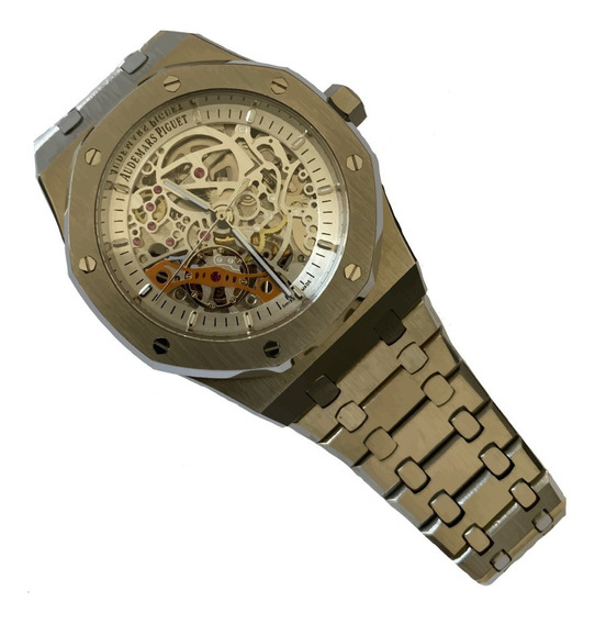 Reloj Audemars Piguet Royal Oak Skeleton Blanco Automatico