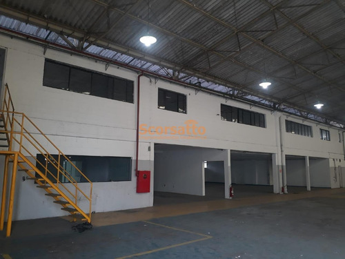 Imagem 1 de 5 de Galpão Comercial Para Locação, Industrial Anhanguera, Osasco/sp - 401