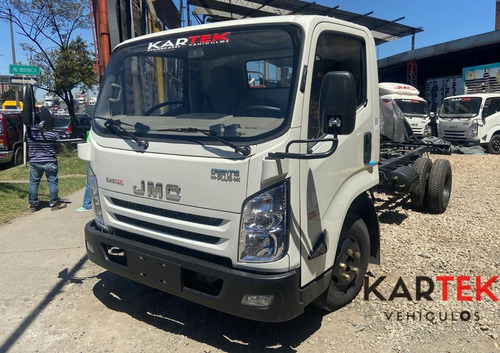 Jmc Carrying Cab Sencilla 4.5 Ton Doble Llanta Modelo 2022