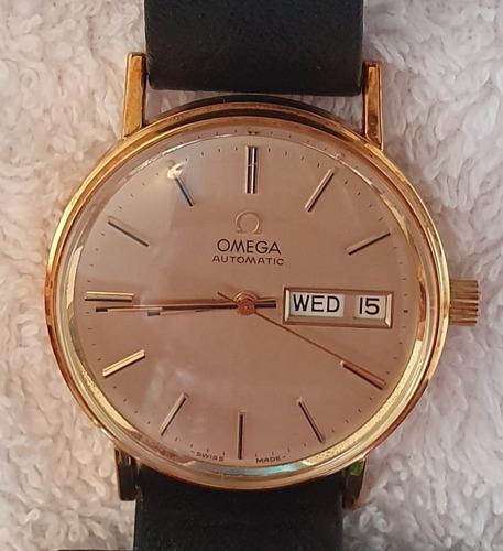 Relógio Ômega Automatic De Ouro