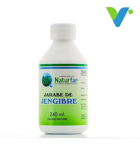 Jarabe De Jengibre Natural Por 240ml Labo - L a $70