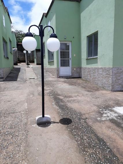 Casa De 2 Quartos Em Condomínio Fechado No Bairro Bela Vista Em Juatuba - 1510