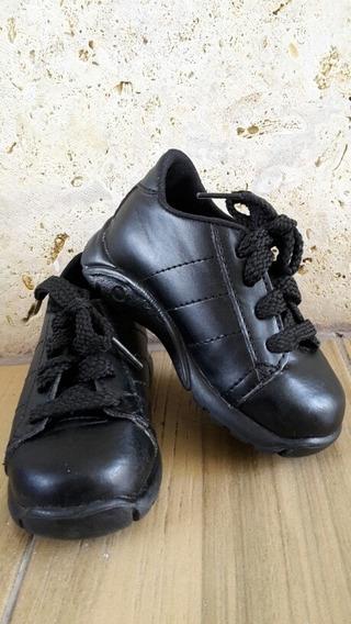 Ofertazo Zapatos Escolares Unisex Talla 22 Marca Ferry Kids