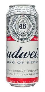 Cerveza Budweiser Lata 473 Cc