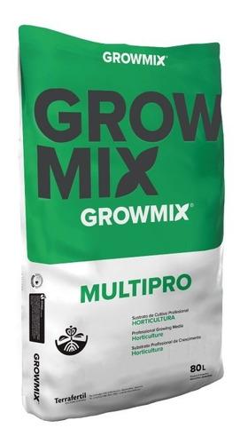 Grow Mix Multipro 80 Lts Tierra Sustrato Indoor  Growprofarg