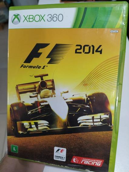 F1 2014 Xbox 360 Xbox One Pt-br Mídia Física