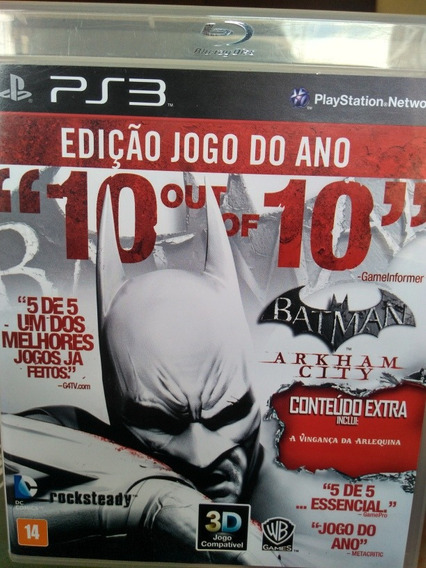 Batman Arkham City Game Of The Year Edition Ps3 Original