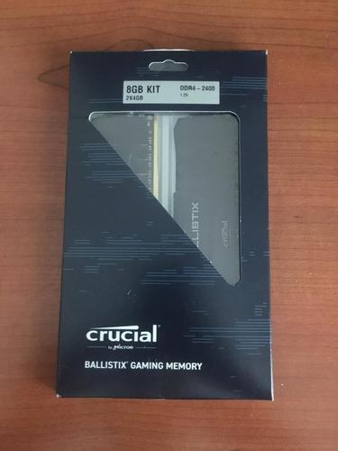 Memoria Ram Gamer Crucial Ballistix 8gb ( 2x4gb ) 2400mhz