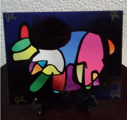 Mosaico Cisnearte   Defendiendo A Mi Protector  , 20 X 25 Cm