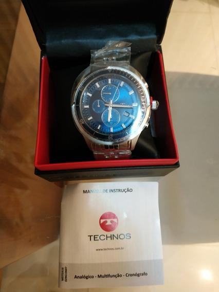 Relógio Technos Azul Original Novo
