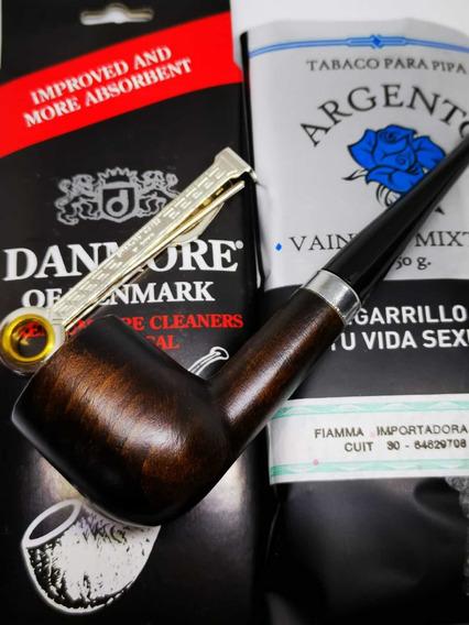 Fumar En Pipa Kit De Inicio Pipa De Madera Tabaco Trío Y +