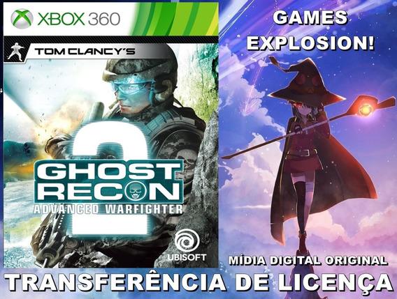 Ghost Recon Advanced Warfighter 2 Xbox 360 - Mídia Digital