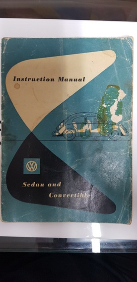 Manual Fusca 1954 Original.