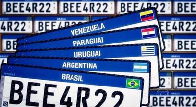 Placas Mercosul