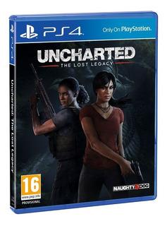 Uncharted The Lost Legacy Ps4. Entrega Inmediata. Español.
