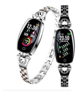 Smartwatch Reloj Inteligente H8 Fit Y Elegant Dama