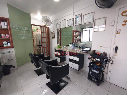 Sala À Venda, 46 M² Por R$ 184.000,00 - Gonzaga - Santos/sp - Sa0026