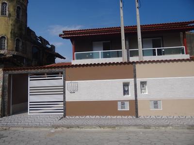 Sobrado Em Mongaguá Lado Praia!! -canaã Imóveis Ref.6172 D