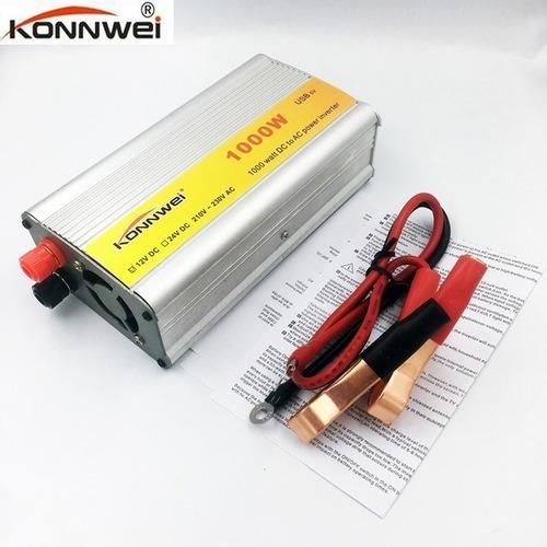 Inversor Konnwei Power Inverter 1000w 12v - 200v P/ Carro