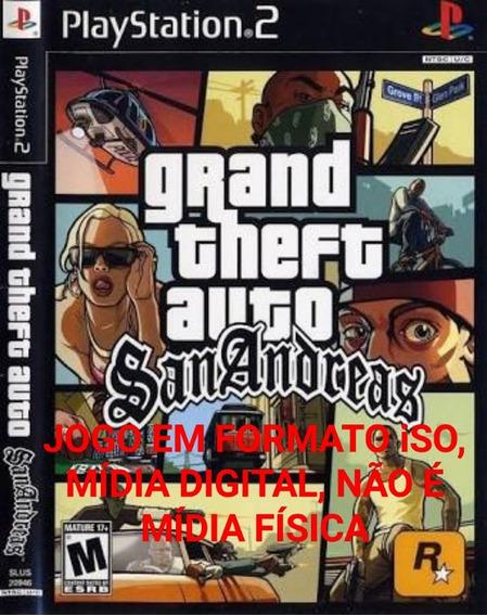 Gta San Andreas Ps2, Iso Download, Baixe Agora!