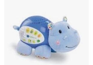 Proyector Hipopotamo Calmante Para Bebe