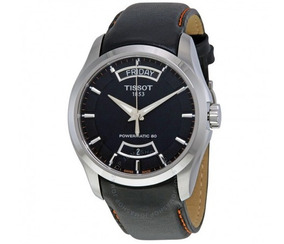 Relógio Tissot Couturier Powermatic 80 Automático Preto/cour