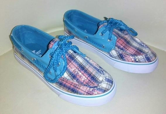 Zapatos Polo Club Para Niñas Talla 31 Nuevos Tipo Sebago