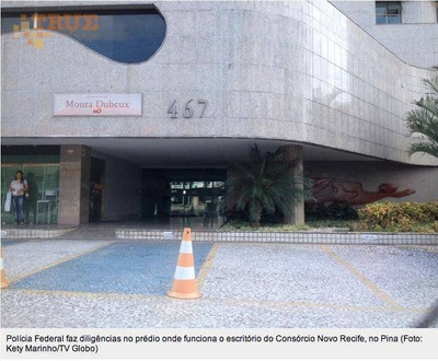 Sala Comercial Para Locação, Boa Viagem, Recife. - Sa0123