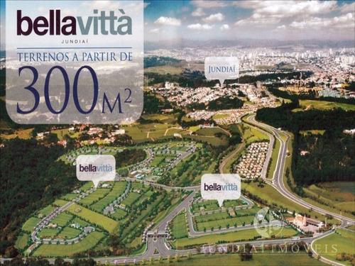Imagem 1 de 22 de Vendo Terreno Plano De 340,00 M² Condomínio Bella Vittá Em Jundiaí - Te00094 - 4474156