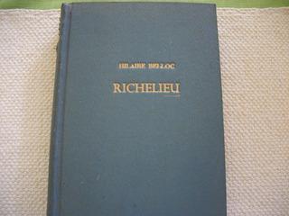 Libro Richelieu. Hilaire Belloc.