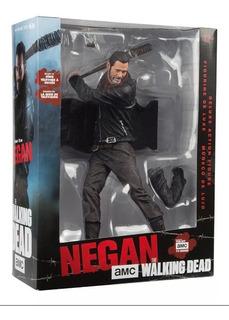 Negan Walking Dead Figura De Lujo Mcfarlane Toys Traído Usa