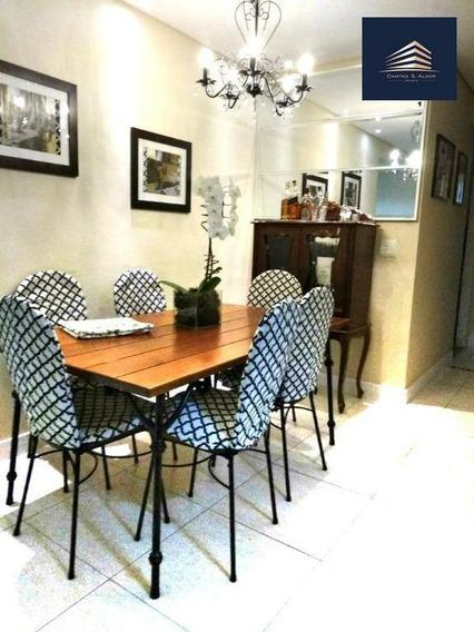 Apartamento No Condomínio Autentico, 82m², 3 Dormitórios, 1 Suíte, 2 Vagas, Aceita Permuta. - Ap0697
