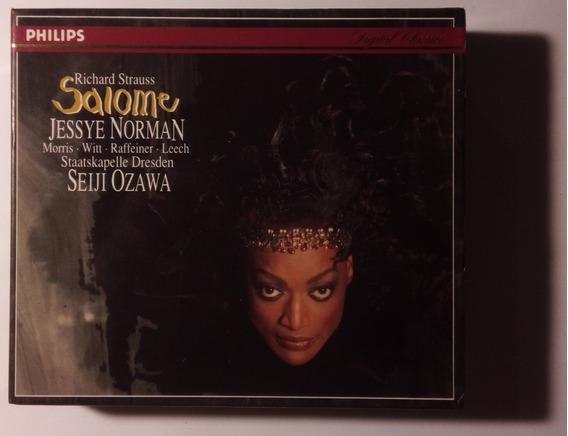 Strauss Box Imp 2cds Salome 1994 Jessye Norman Seiji Ozawa