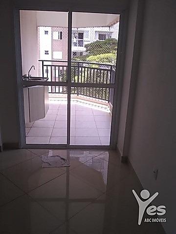 Imagem 1 de 9 de Ref.: 2099 - Apartamento Condomínio Fechado Com 2 Dormitórios, Suíte, Varanda Gourmet E 2 Vagas No Campestre - Santo André - Venha Já Conhecer! - 2099