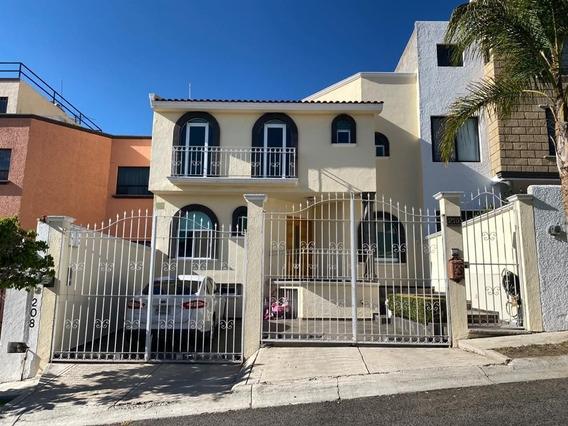 Casa En Renta Arboledas Del Parque Queretaro Rcr180313-mg