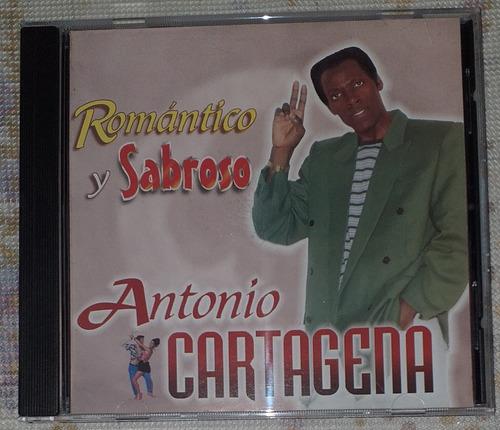 Antonio Cartagena Romantico Y Sabroso Cd Salsa
