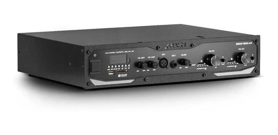 Amplificador Profissional Frahm Gr 5500 App 600w Bt Usb Sd