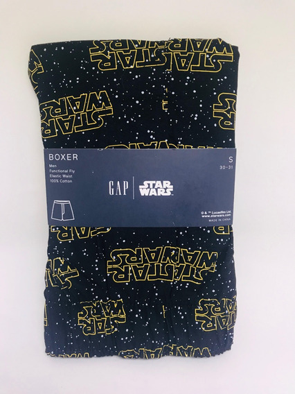Cueca Boxer Gap Star Wars Tamanho P Original