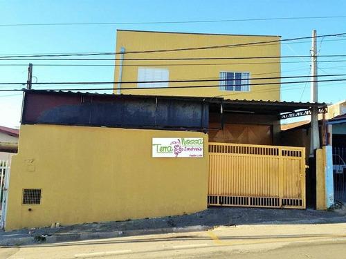 Imagem 1 de 20 de Galpão + Casa Comercial À Venda, Capela, Vinhedo. - Ga0057