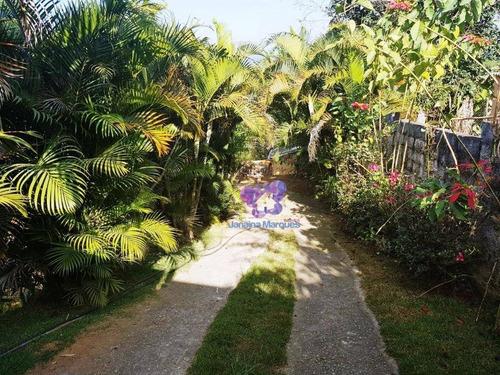 Chácara Com 3 Dormitórios À Venda, 1500 M² Por R$ 210.000,00 - Tanque Velho - Município De Araçariguama/sp - Ch0086