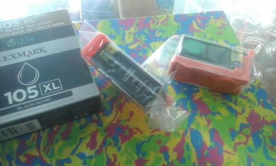 Pack Decartuchos Lexmark Xl 100