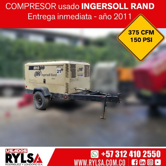 Compresor Usado 375 Cfm Ingersoll Rand - Doosan 150 Psi