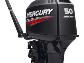 Motor De Popa Mercur 50 Hp 2t #promoção Yamaha Evinrude
