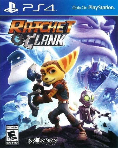 Jogo Ratchet And Clank Playstation 4 Ps4 Novo Frete Grátis