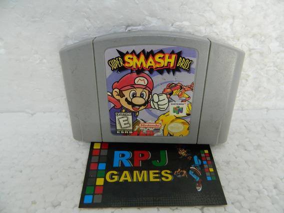 Super Smash Bros Original Salvando P/ Nintendo 64 N64