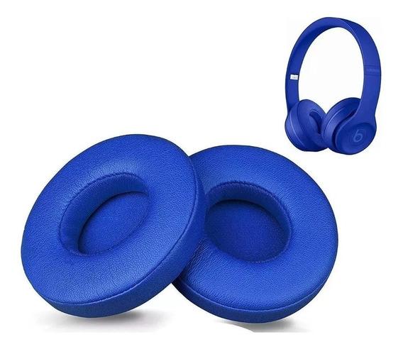 Par De Espuma Almofadas Beats Solo 2.0/3.0 Wireless Azul 3m
