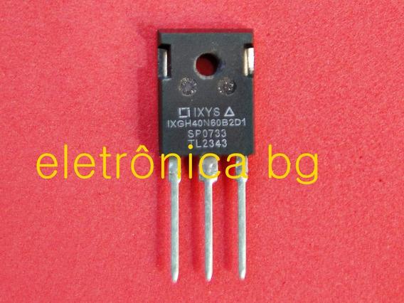 Ixgh40n60b2d1 Ixgh40n60 Igbt Transistor 40n60