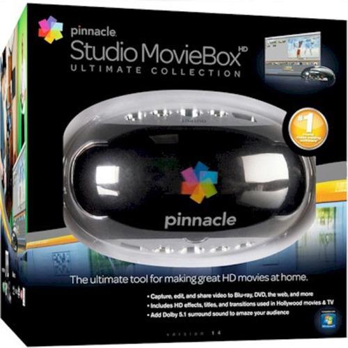 Editor De Filmes Studio Moviebox Hd Pinnacle Usb Cor Preta