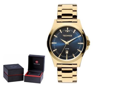Relógio Technos Steel Masculino 2115lan/4a Original + Nf